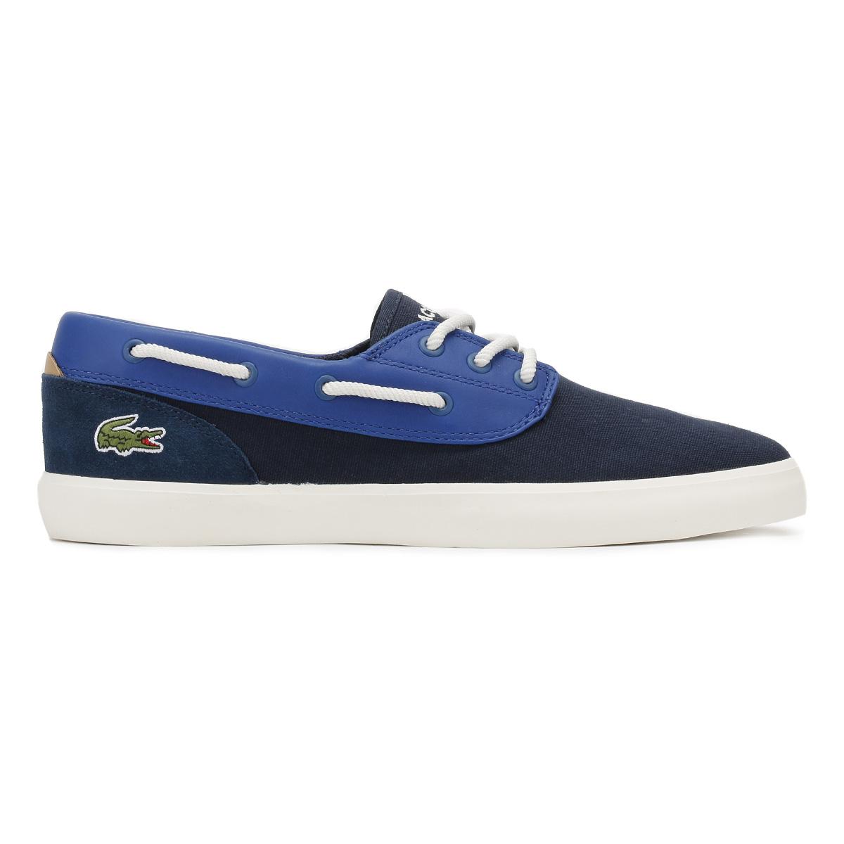 Casual oder Deck Schwarz 117 Sneakers Cam 1 Blau Mens Marineblau Schuhe Lacoste Jouer 0Evqx8
