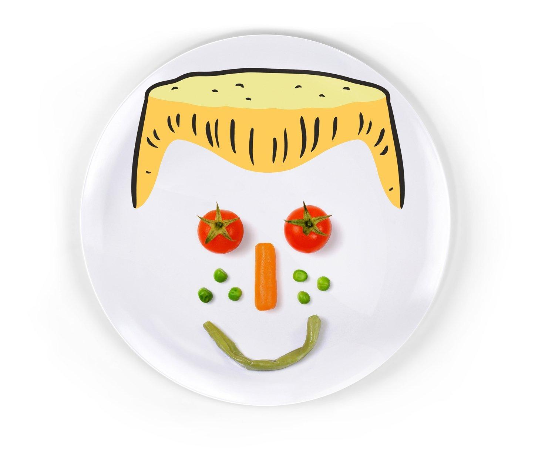 Set-of-3-Ceramic-Childrens-Novelty-23cm-Dinner-  sc 1 st  eBay & Set of 3 Ceramic Childrens Novelty 23cm Dinner Plates Boys or Girls ...