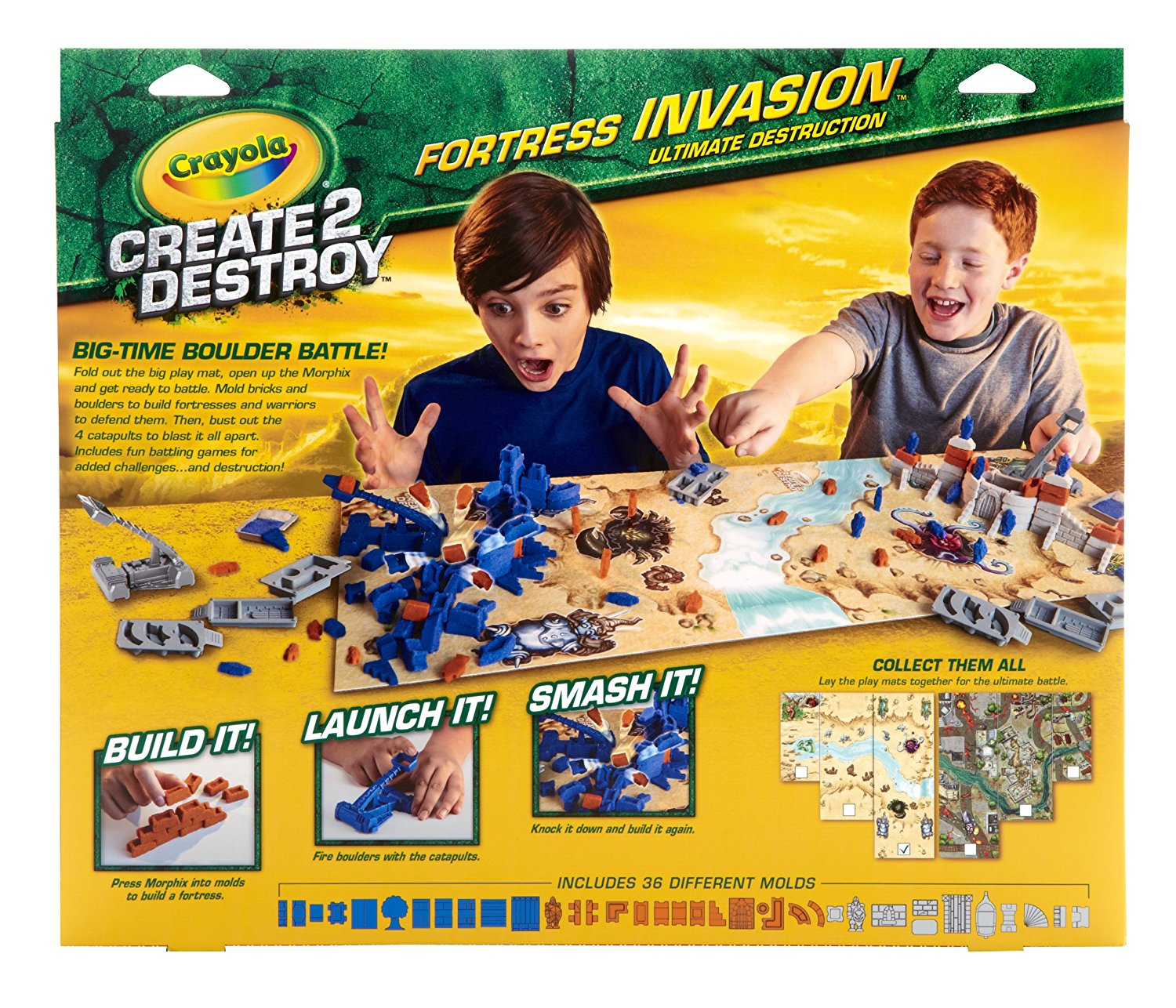 Crayola Create 2 Destroy Kit Dino Destruction or Fortress