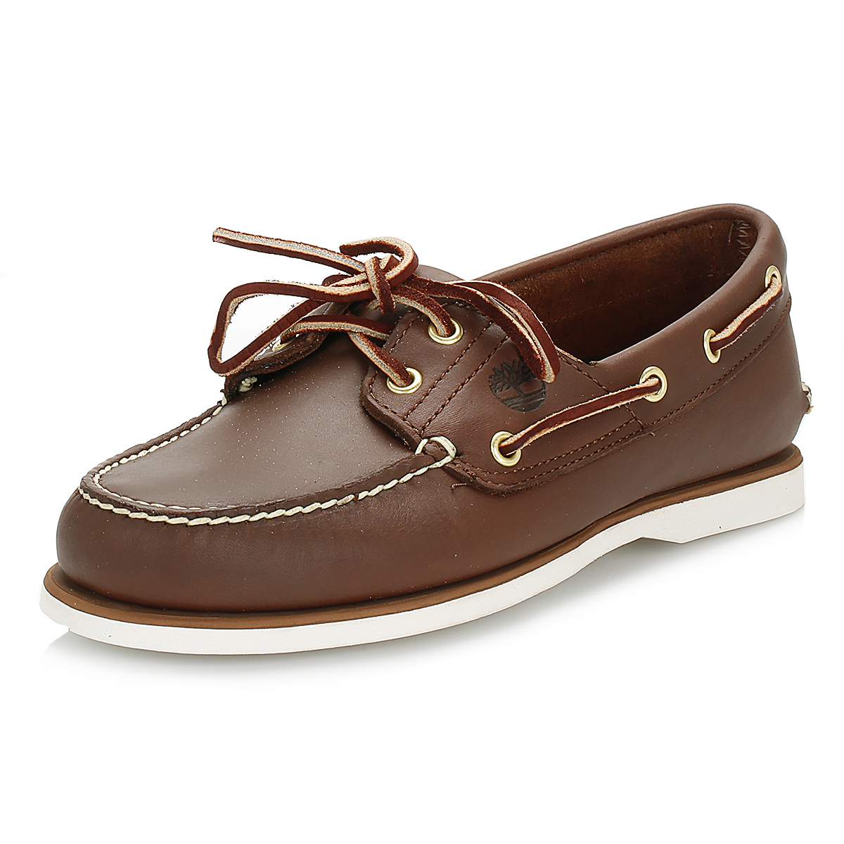 29a76ad3f Details about Timberland Classic Mens Brown Leather Boat Shoes