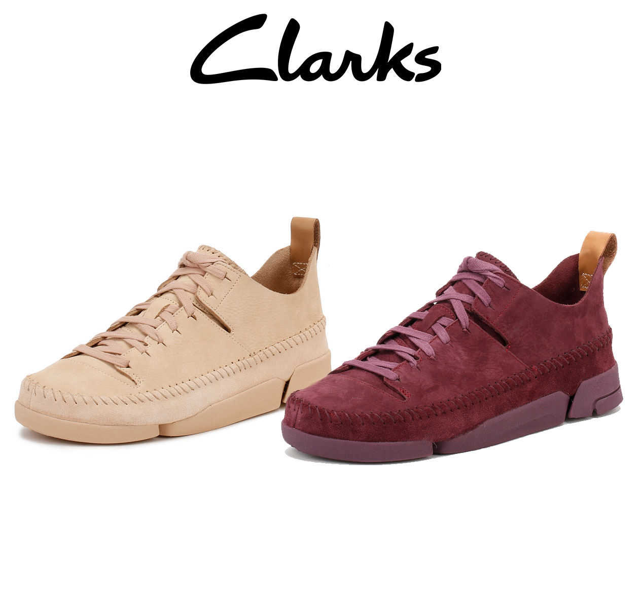 Details about Clarks Womens Trainers Pink or Purple Trigenic Flex Nubuck  Leather Lace Up e7c3e56ff5