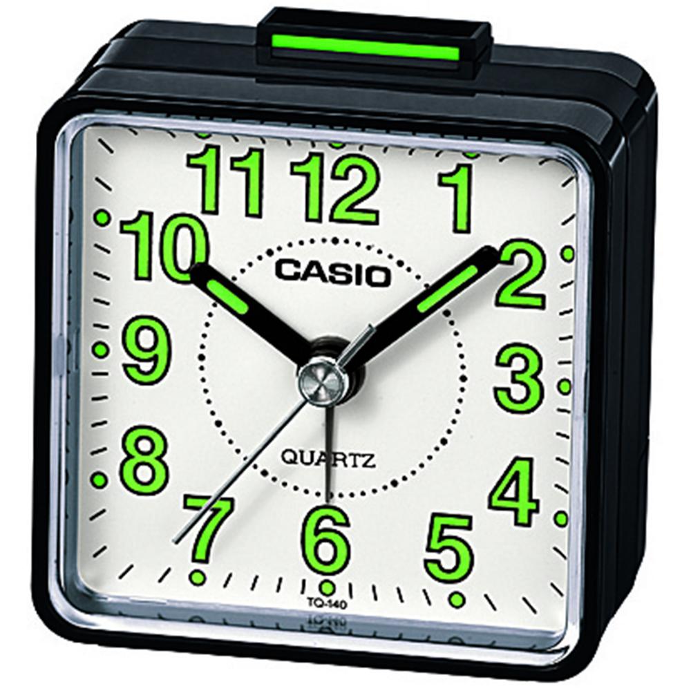 Casio beep sound alarm clock blackwhitered quartz analog image is loading casio beep sound alarm clock black white red amipublicfo Gallery