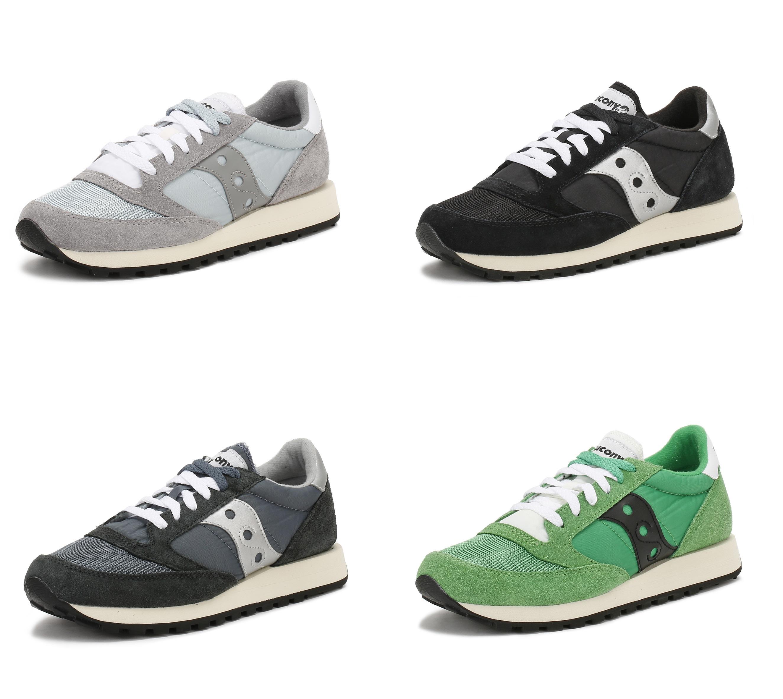 aaf88c7f Details about Saucony Unisex Jazz Original Vintage Trainers, Mixed Upper,  Retro Sports Shoes