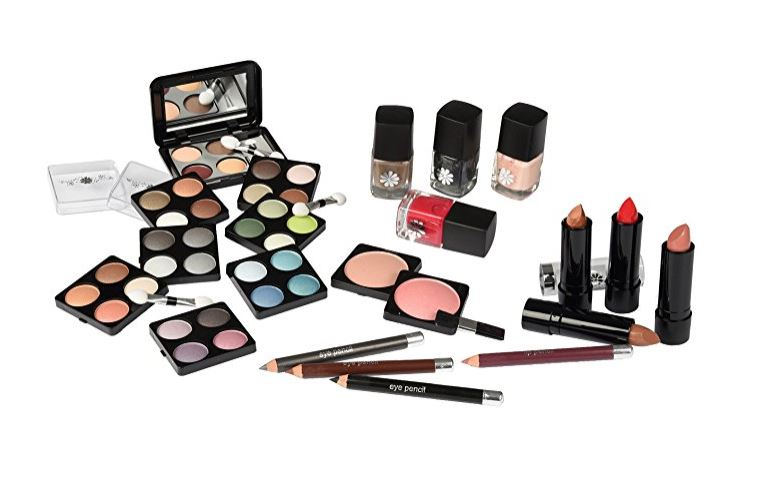 Details about Urban Beauty Make Up Set & Vanity Case, 51pcs, Cosmetics  Collection & Carry Box