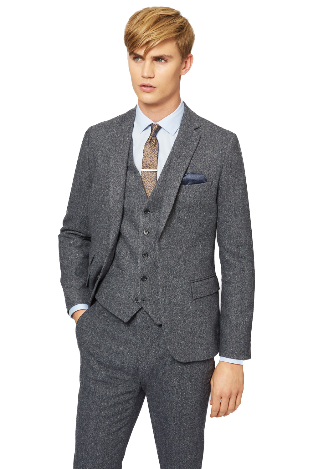 Donegal Wool Suit