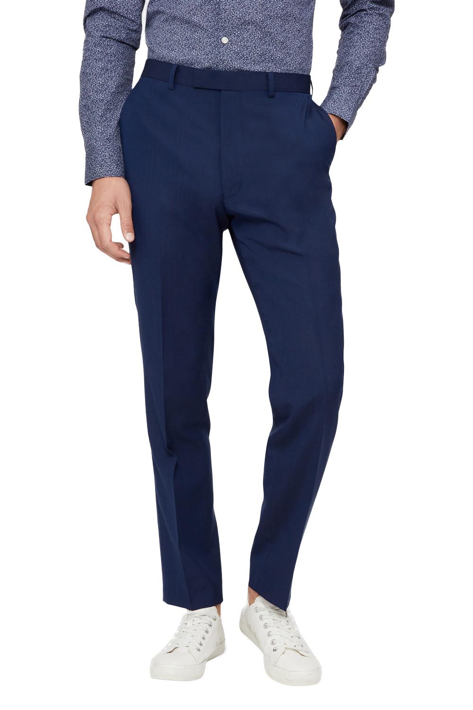 50996068d04 Details about French Connection Mens Suit Trousers Slim Fit Navy Blue  Formal Pants Mix   Match