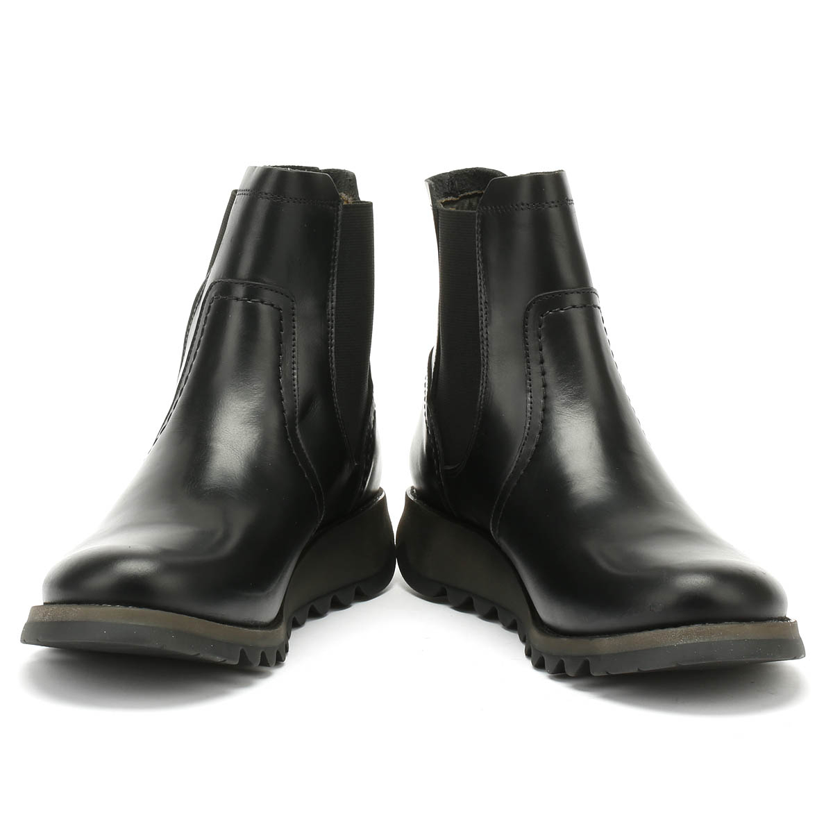 Fly-London-Womens-Boots-Black-Scon-Rug-Ladies-Leather-Winter-Ankle-Shoes thumbnail 6