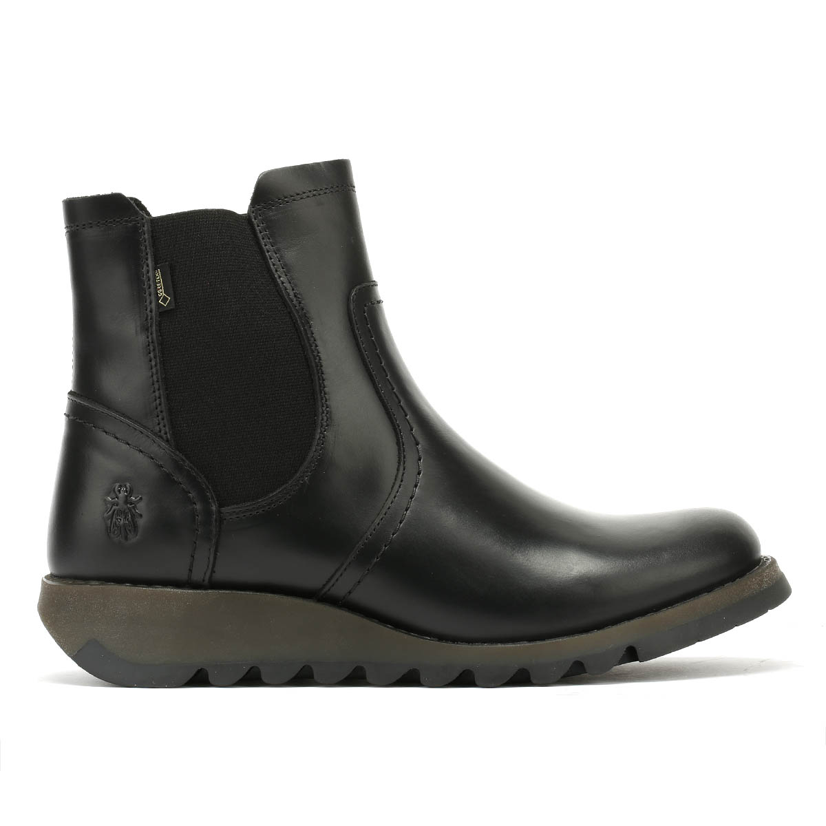 Fly-London-Womens-Boots-Black-Scon-Rug-Ladies-Leather-Winter-Ankle-Shoes thumbnail 4