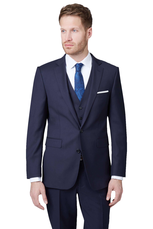 1a2f2a8f659 Lanificio F.lli Cerruti Dal 1881 Mens Navy Suit Jacket Wool Tailored ...
