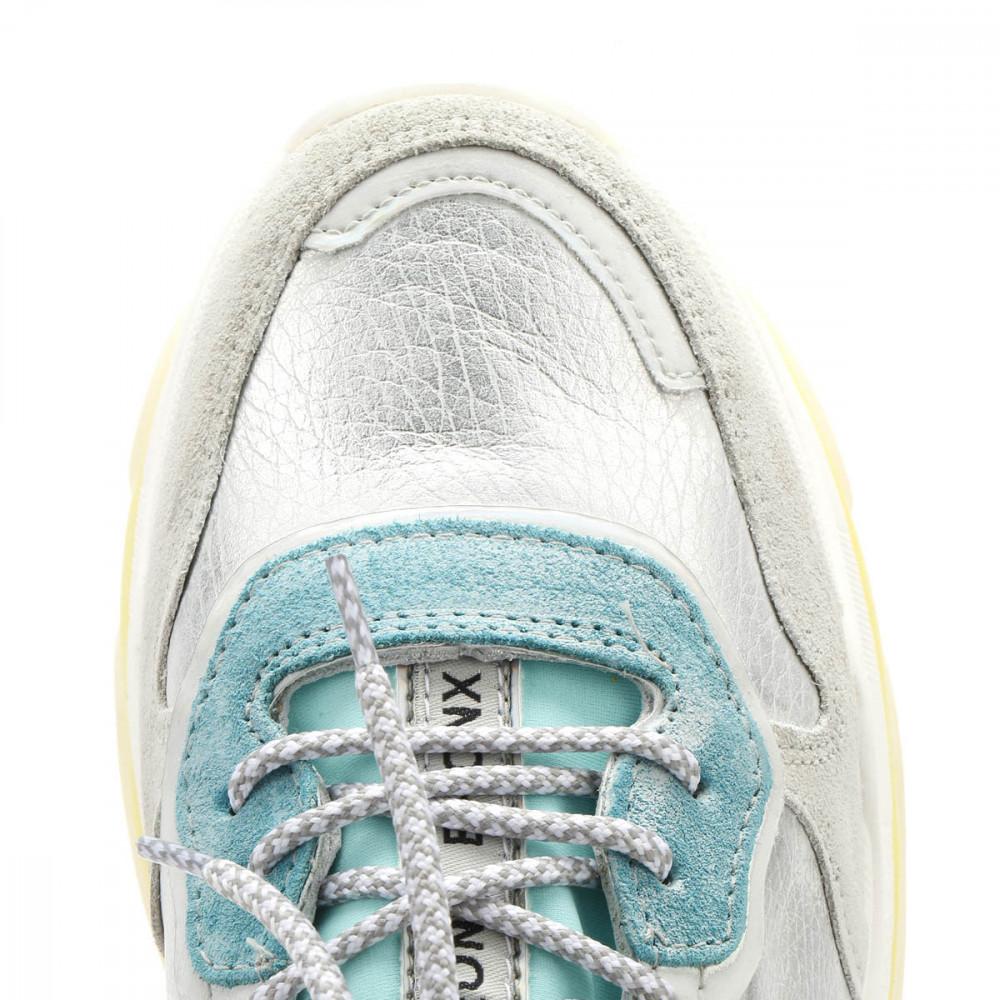 Bronx Scarpe da Giallo ginnastica da donna Turchese & Giallo da a baisley Lacci Scarpe Casual 136c5c