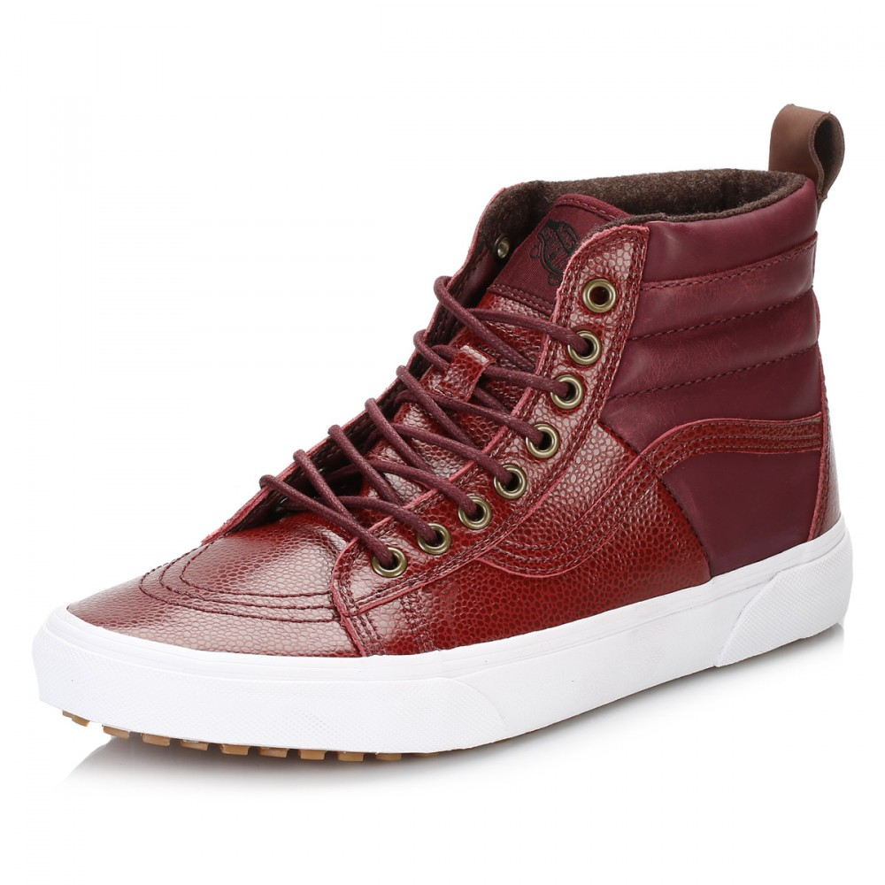 df5cbad60e Buy red high vans