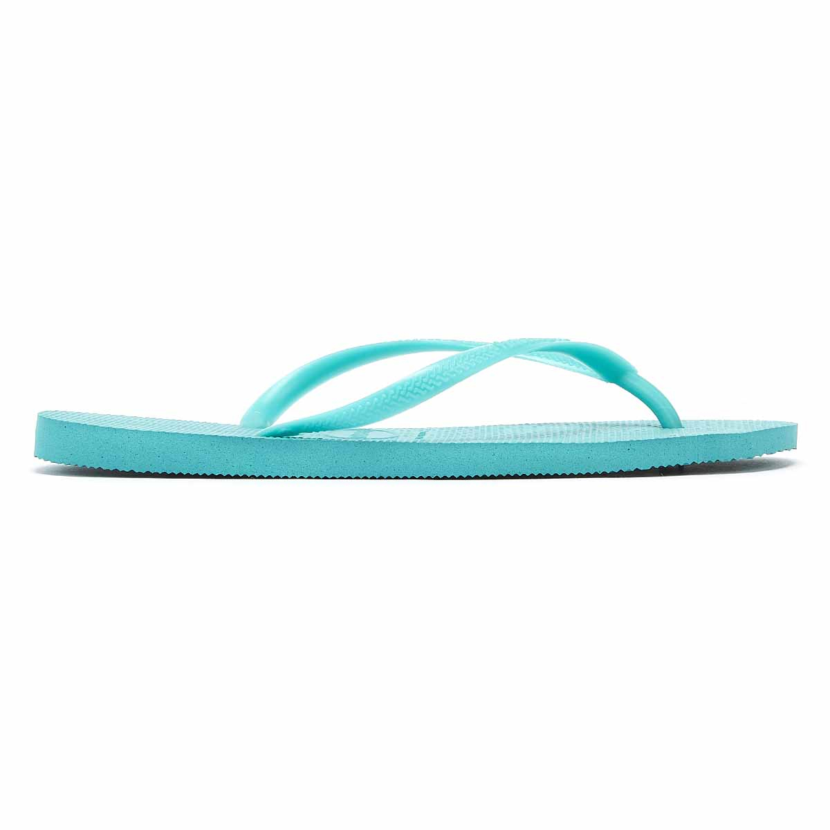 Havaianas Slim Womens Lake Green Flip Flops Ladies Summer Sandals