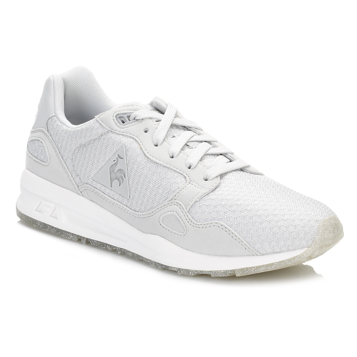 le coq sportif womens galet lcs r900 w sparkly trainers casual running shoes ebay. Black Bedroom Furniture Sets. Home Design Ideas