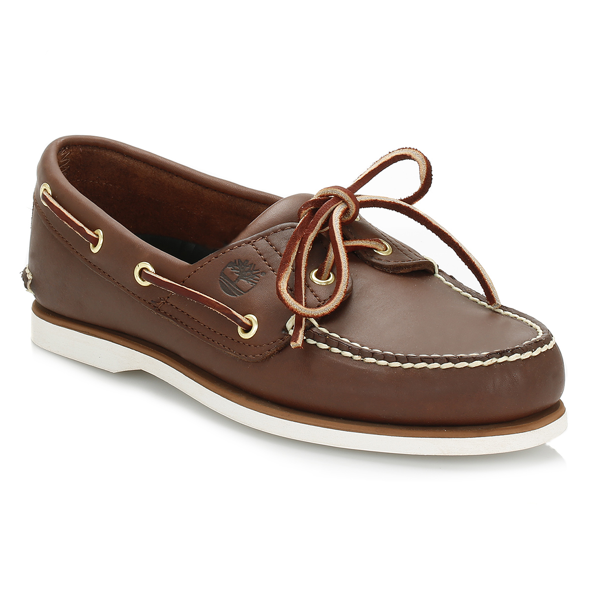 39114587 Timberland Mens Classic Boat Shoes, Navy Blue or Brown, Leather ...