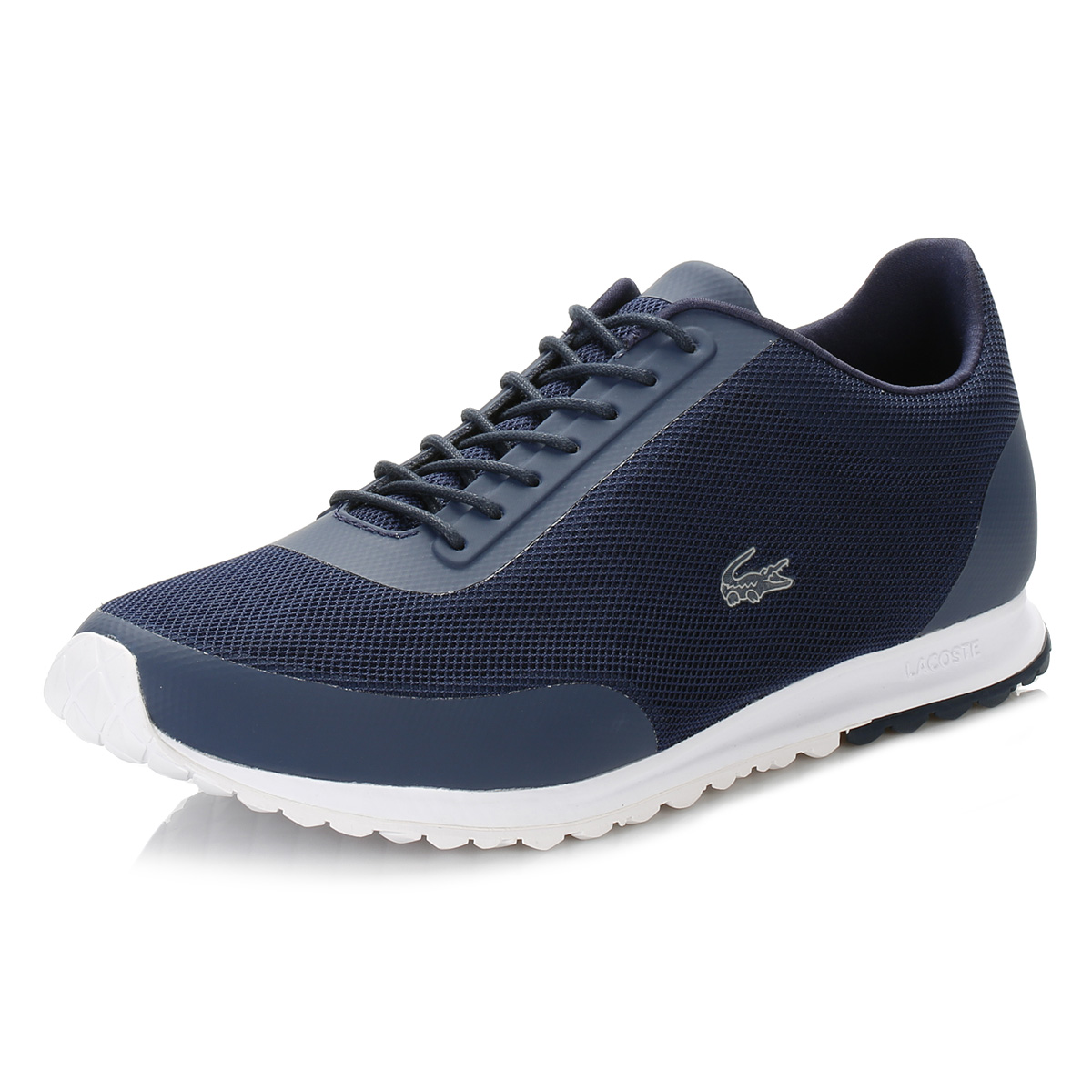 8e69121a6 Details about Lacoste Womens Navy Blue Helaine Runner 116 3 SPW Trainers  Casual Sports Shoes