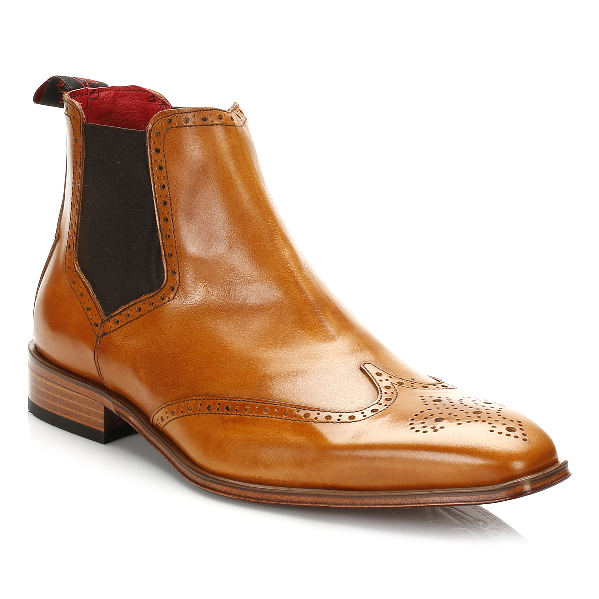 Men's Brown Leather Brogue Boots $ From MR PORTER Price last checked 7 hours ago. Product prices and availability are accurate as of the date/time indicated and are subject to change. Any price and availability information displayed on partners' sites at the time of purchase will apply to Price: $