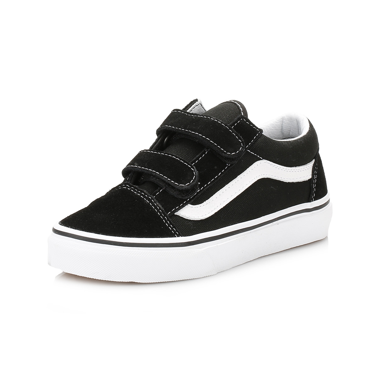 vans old skool black & white trainers