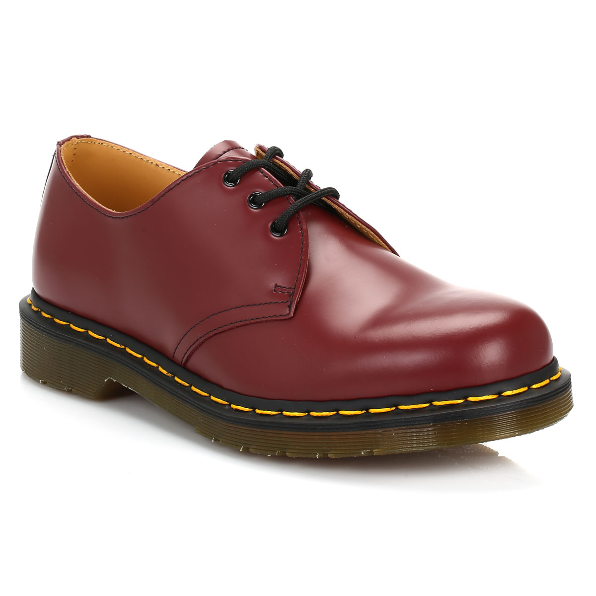 dr martens unisex cherry red casual shoes mens womens. Black Bedroom Furniture Sets. Home Design Ideas