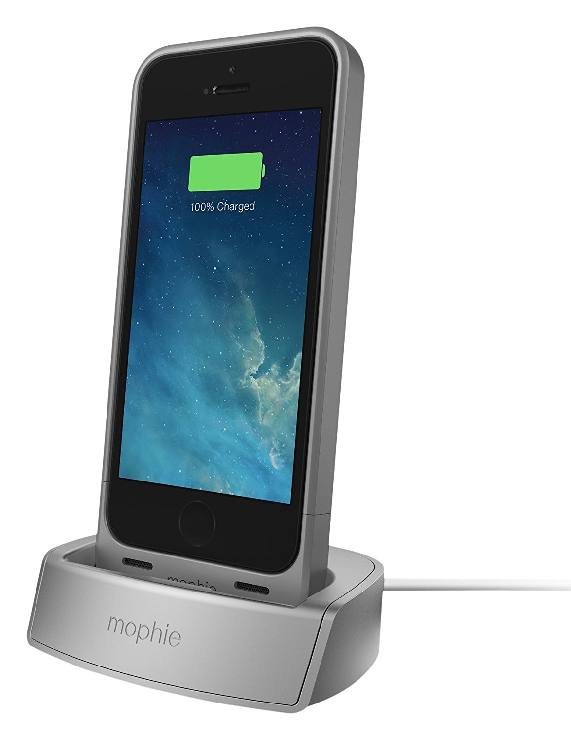 Mophie Silver Docking Station For Apple Iphone 5 5s Se Charging Stand 810472023052 Ebay Nomad base station apple watch edition ebay