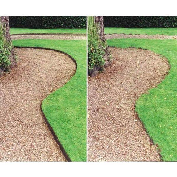 Garden edging strip plastic