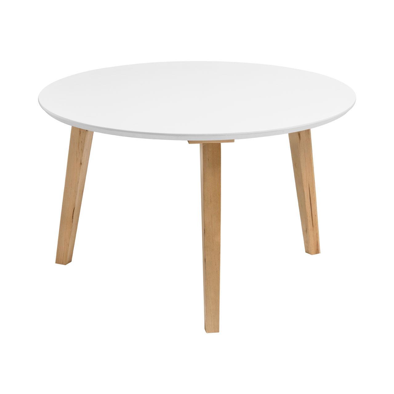 Fiesta Coffee Table, White/Birch Frame | eBay