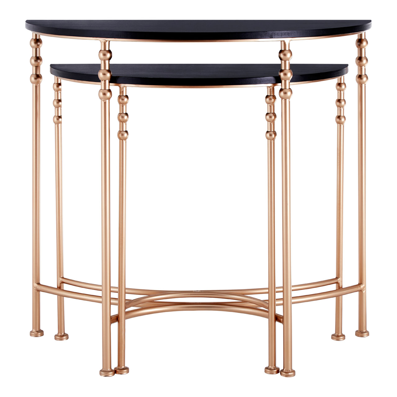 half table for hallway. Image Is Loading Lexa-Console-Tables-Half-Round-Set-of-2- Half Table For Hallway