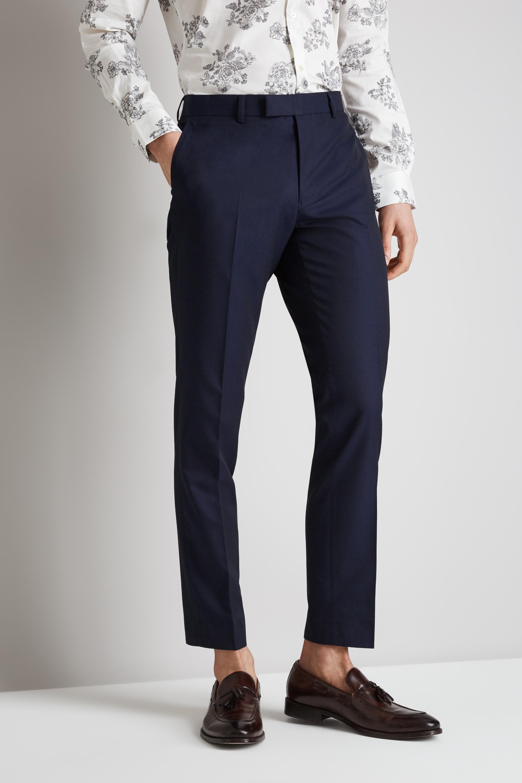 Moss london mens suit trousers skinny fit ink blue mix match jpg 2000x3000  London pants 8d7e1e6d8