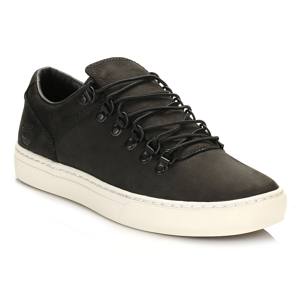 3d3f6698fd31d6 Details about Timberland Mens Black Adventure 2.0 Cupsole Alpine Ox  Trainers Nubuck Shoes