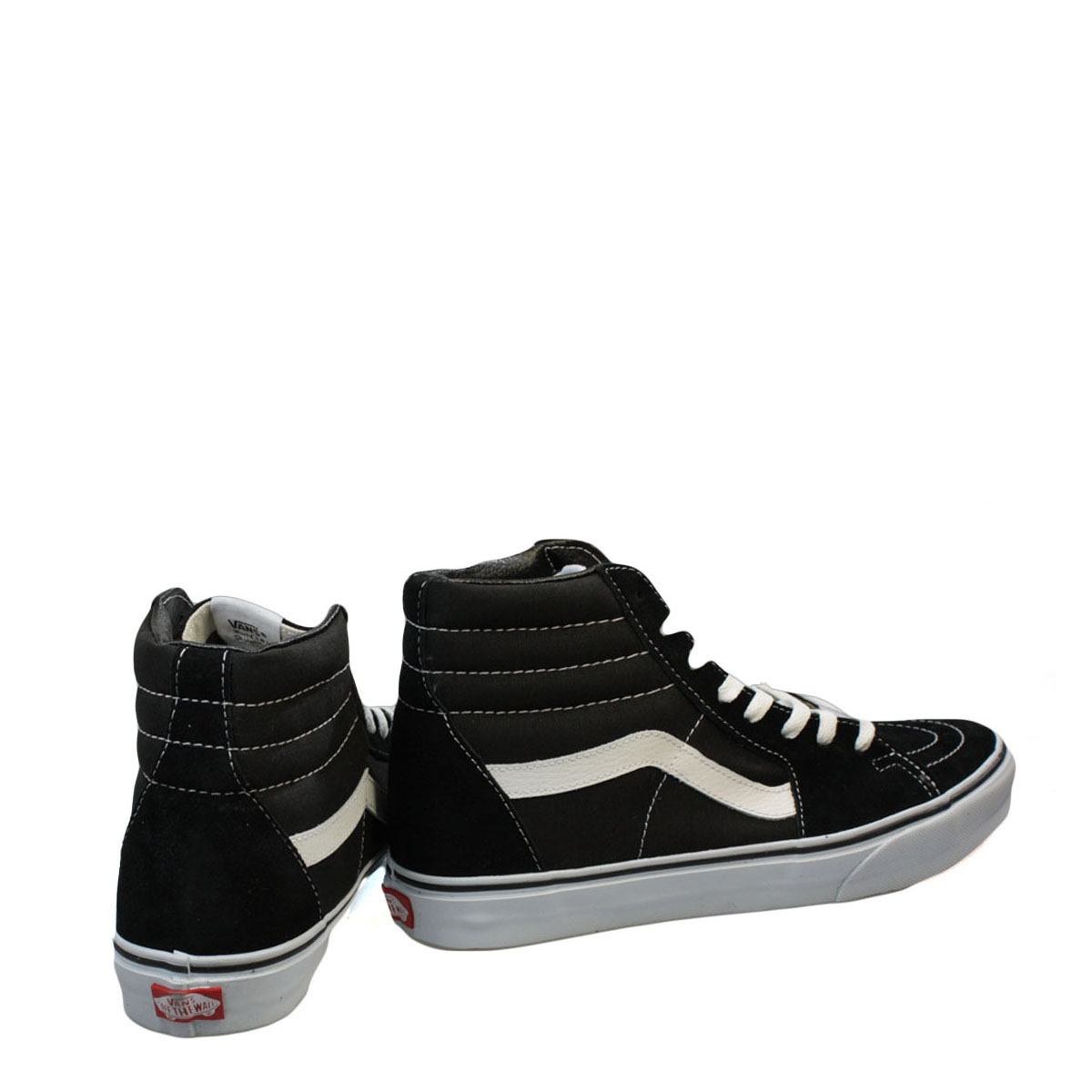 vans womens black high tops