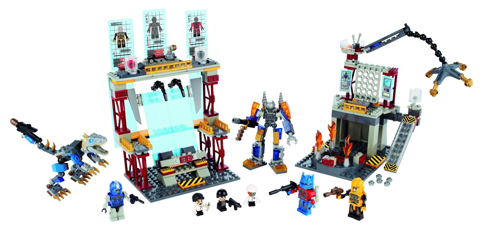 Kre O Transformers Age Of Extinction Galvatron Factory Battle Set