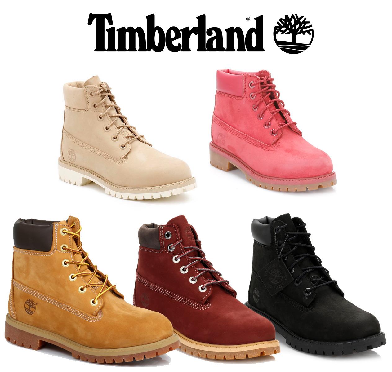 Timberland Kids Boots Original 6 Inch Premium N9999 Juniors