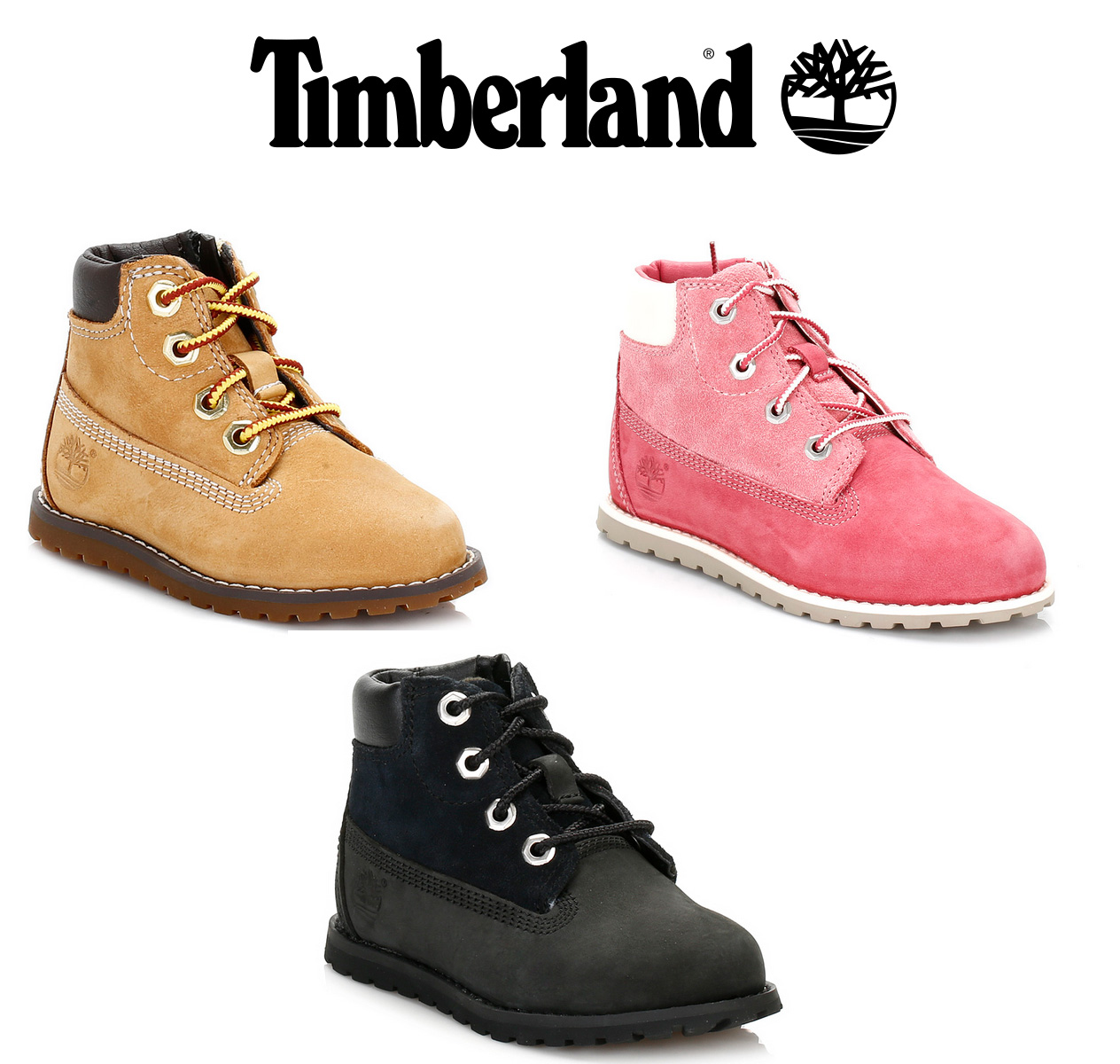 299711578d070 Details about Timberland Toddler Boots, Black Nubuck, 6