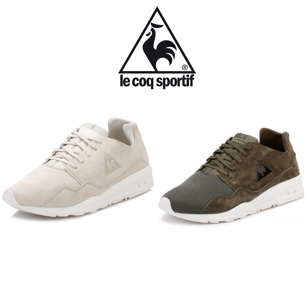 1164966ffb6a Complete with signature Le Coq Sportif branding. Le Coq Sportif goes back  to their roots