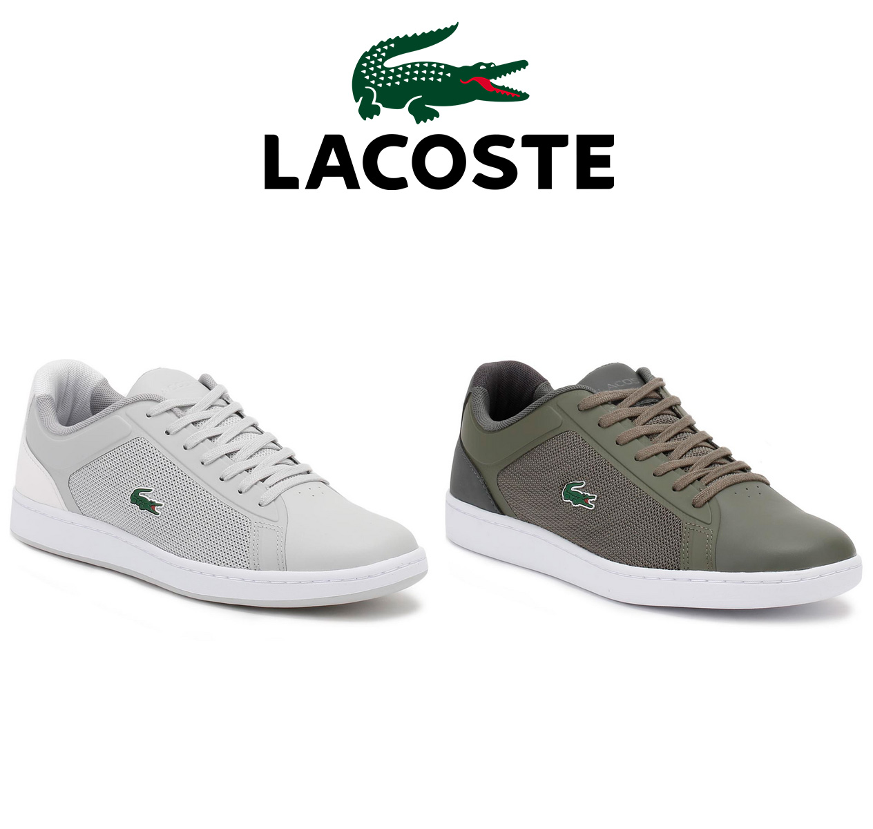 Lacoste Hombres Khaki L.Ight 217 1 SPM Zapatillas-UK 6 N1cTsci9fX
