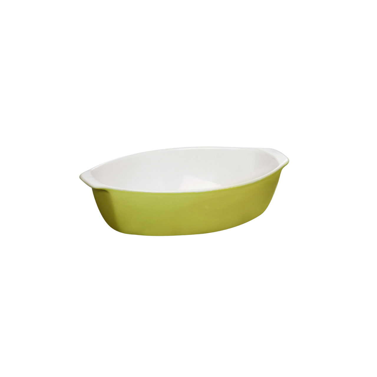 Stone Baking Dish : Ovenlove stoneware baking dish lime green oven roasting