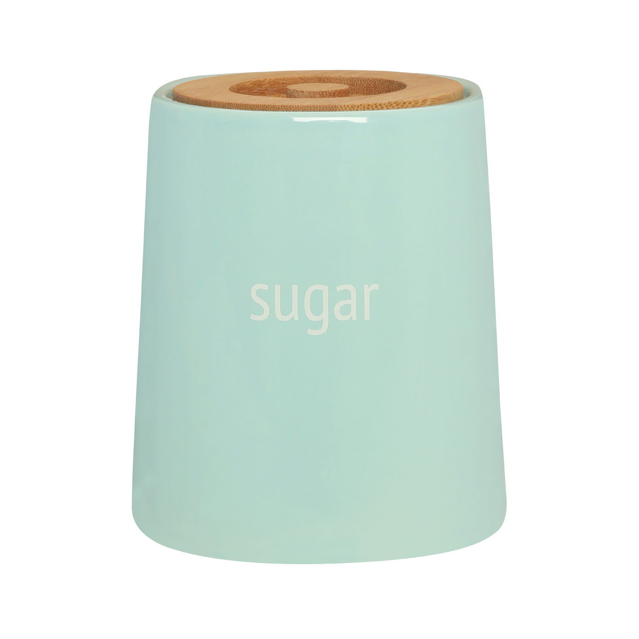 Premier Pale Blue Ceramic Sugar Canister Jar Kitchen Storage Pot ...