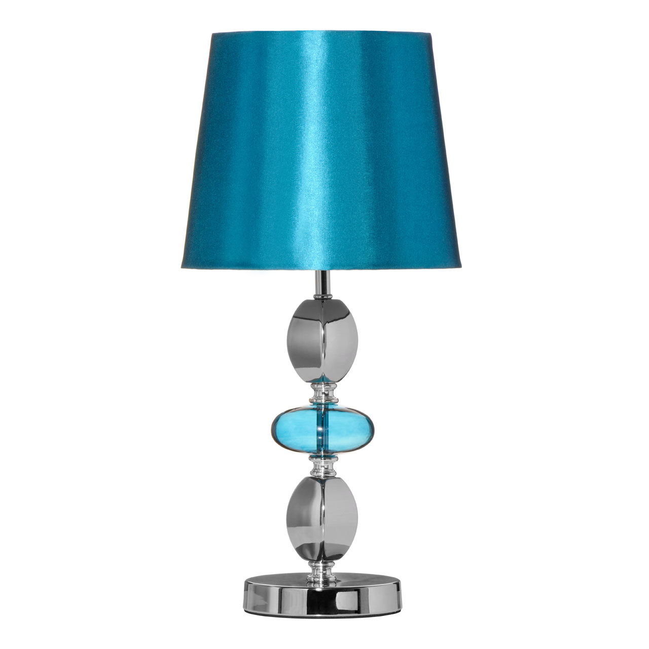 Isabella teal glass pebble table desk lamp fabric shade modern isabella teal glass pebble table desk lamp fabric shade modern bedside light aloadofball Images