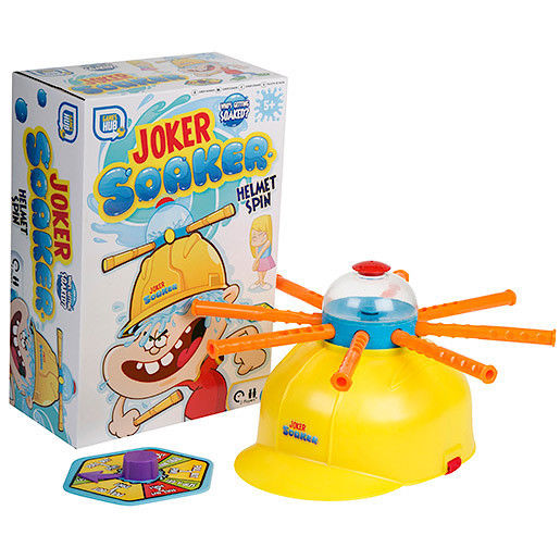 Joker Soaker Water Roulette Children's Hat Game Whoever Gets A Wet Head Loses