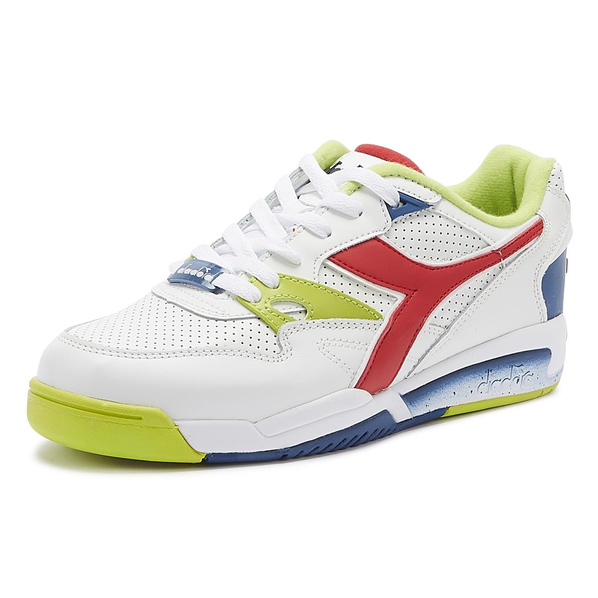 2020 Diadora Rebound Ace Uomini Bianco Leather Trainers