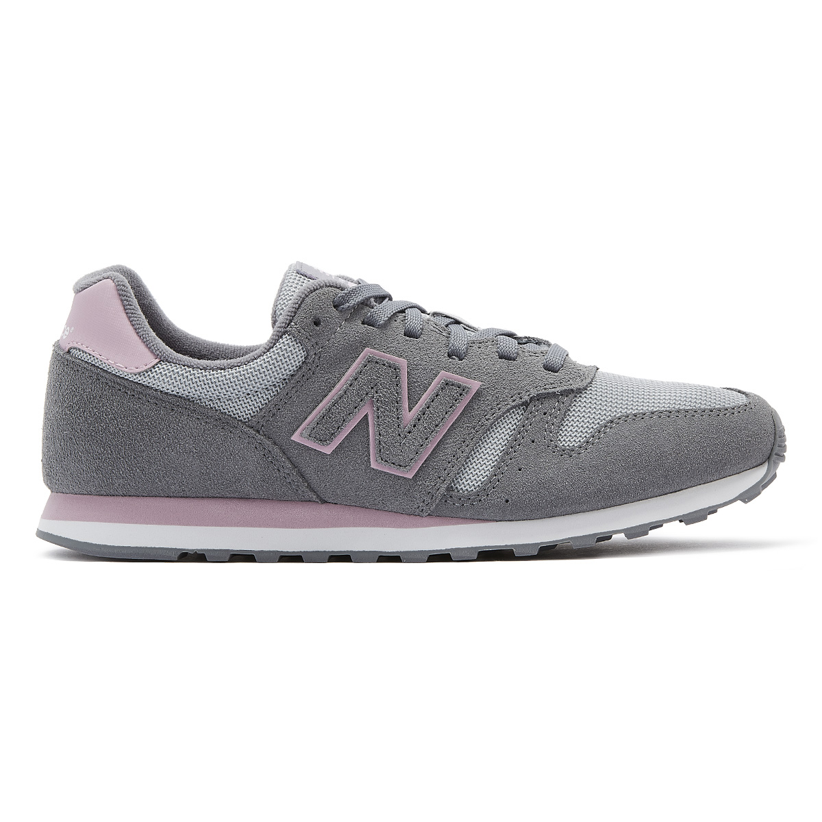 batalla libro de bolsillo Prima  New Balance 373 Womens Grey / Pink Ladies Sport Casual Shoes | eBay