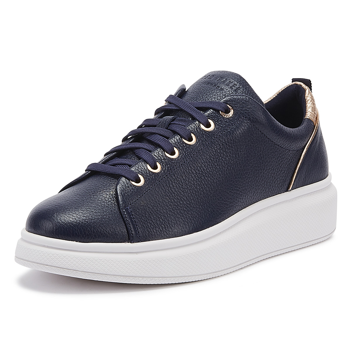 Ted Baker Ailbel Womens Navy Leather