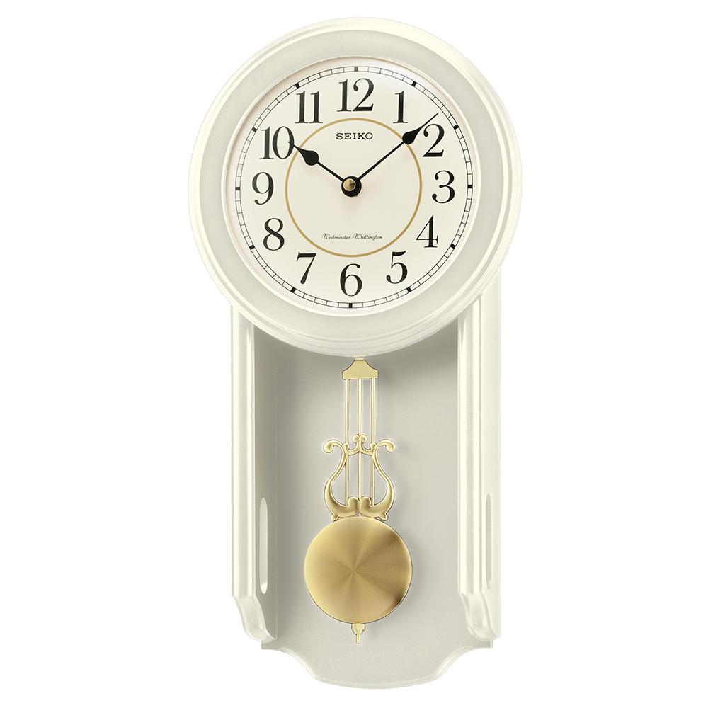 Seiko Westminster Whittington Dual Chime Wooden Wall Clock