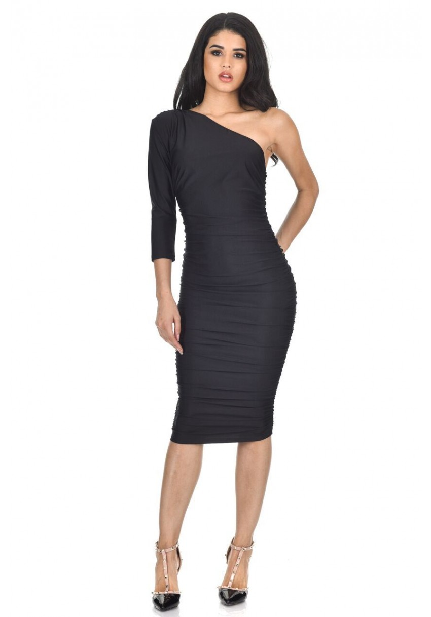 Warehouse with one skirt dress shoulder bodycon pleated india