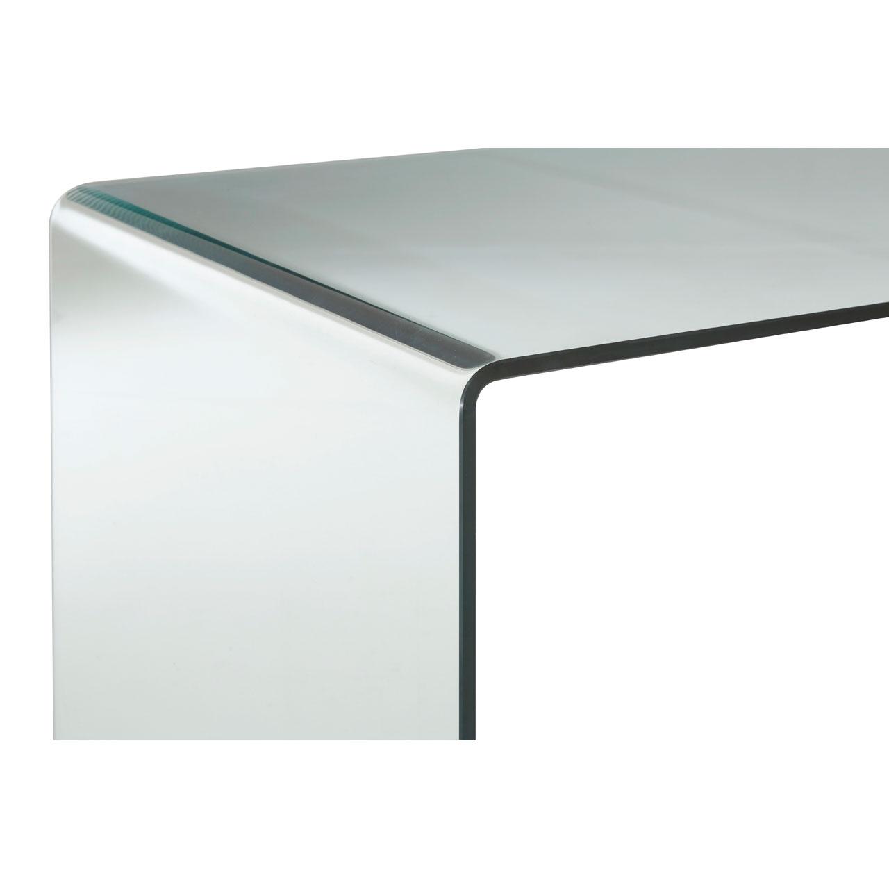 Utrusive Glass Desk