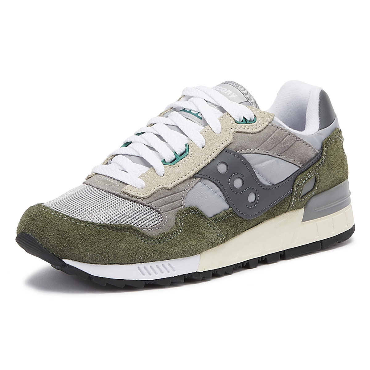 Details about Saucony Shadow 5000 Vintage Mens Grey Casual Lifestyle Shoes Sneakers S70404 13