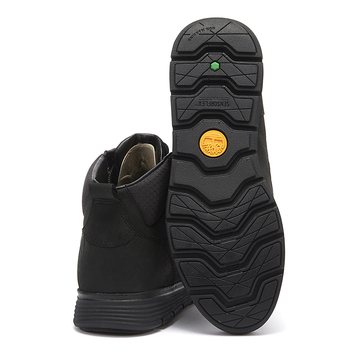 Details about Timberland Killington Junior Black Chukka Boots Kids Leather Winter Shoes