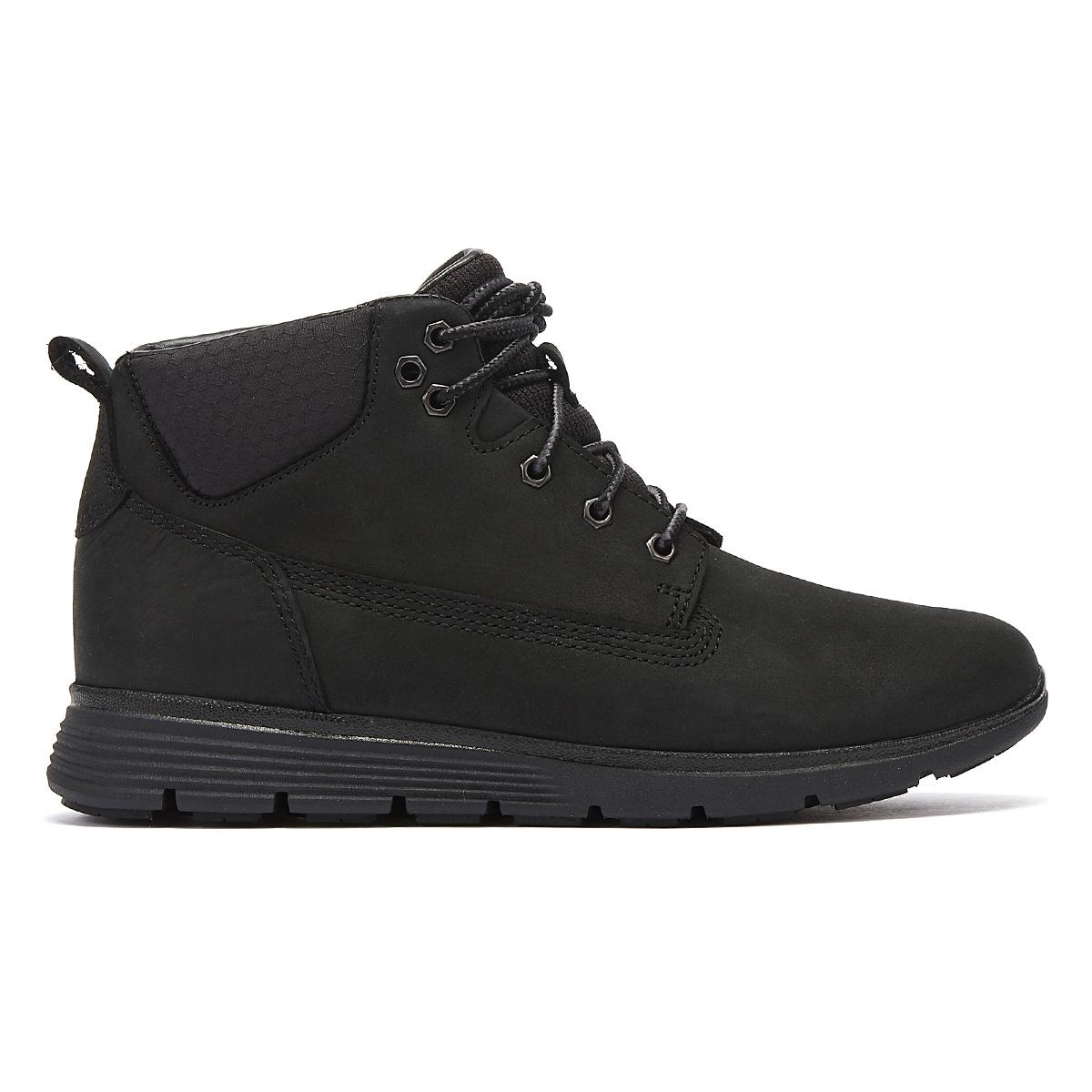 Details about Timberland Killington Junior Black Chukka Boots Kids Leather Winter Shoes