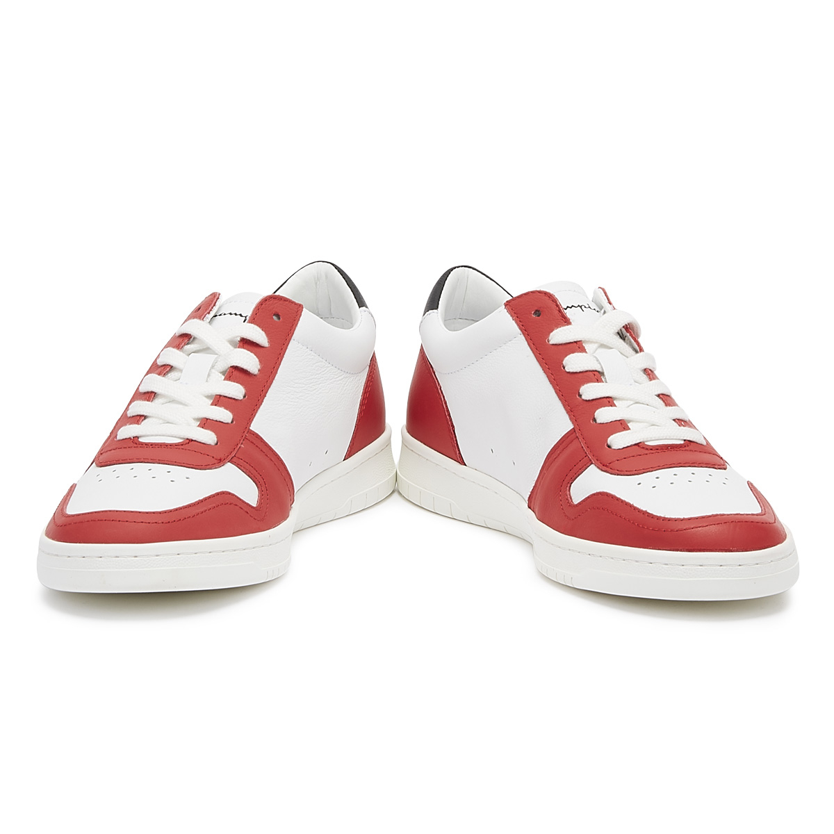 eb5704f2b Champion 919 Roch Low Mens White / Red Trainers Lace Up Sport Casual Shoes