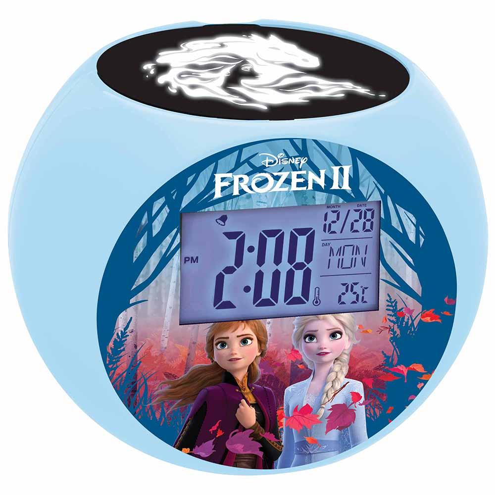 Lexibook Disney Frozen Ii Radio With Projector Alarm Clock For Kids Bedroom Ebay