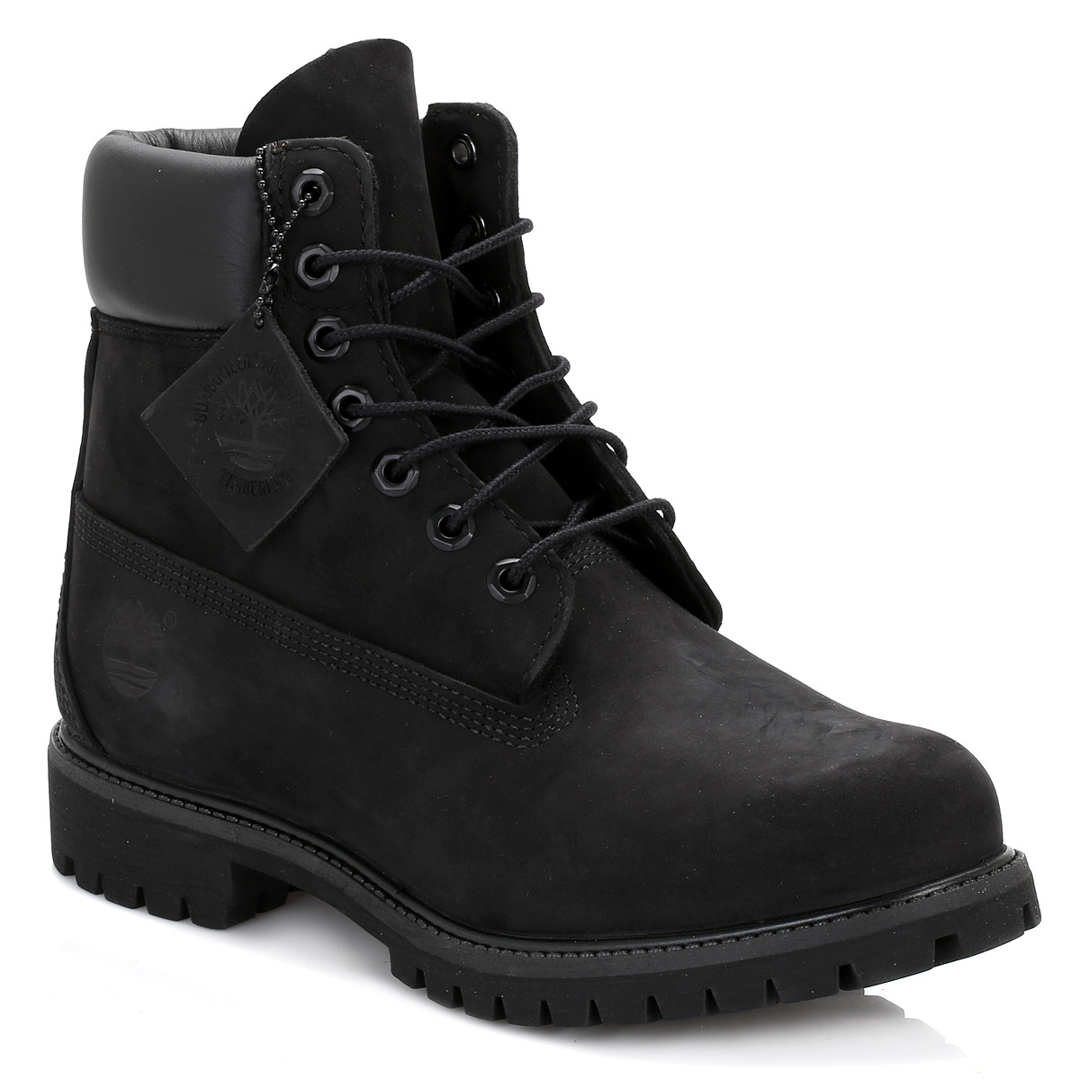 Timberland Black Nubuck Shoes